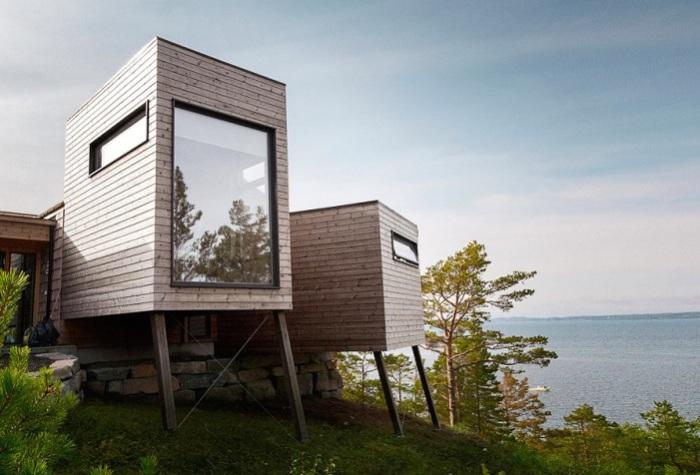 Дом отдыха в Норвегии.