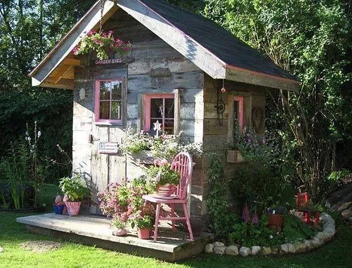 Дамский домик She shed.