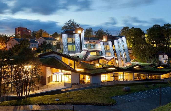 Архитектурный проект фирмы SAALS Architecture.