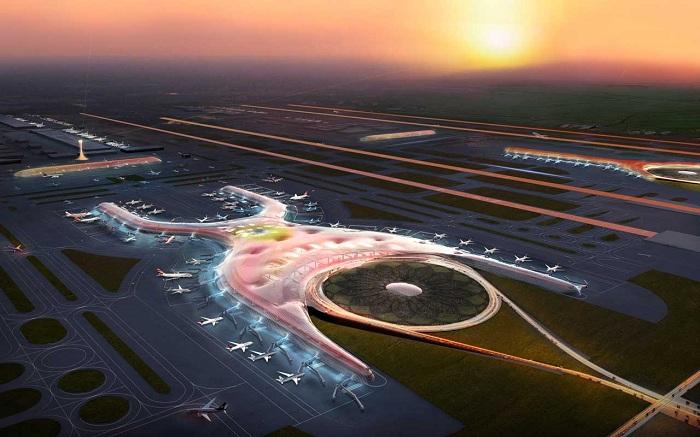 В Мексике строят новый аэропорт.