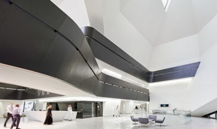 Здание с высоким уровнем энергоэффективности.