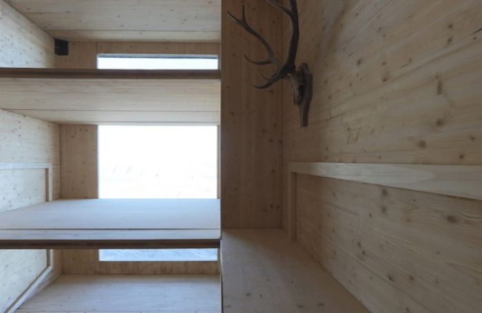 Kanin Winter Cabin - место для ночевки.