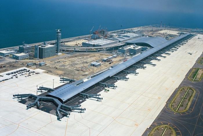 Airport Kansai - самый длинный аэропорт в мире.