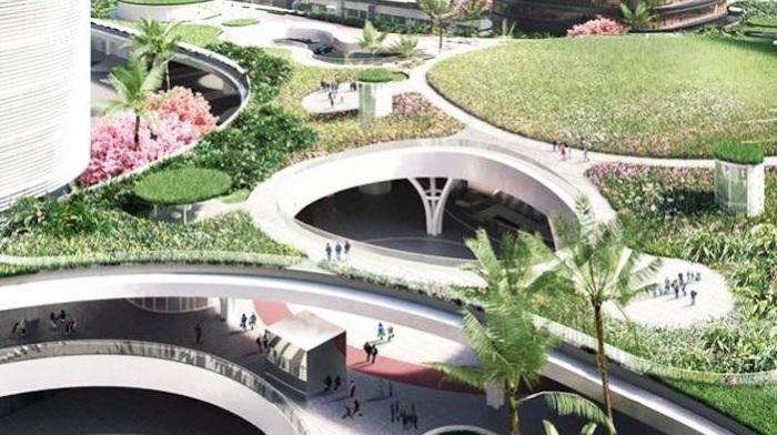 Архитекторский проект голландской фирмы Mecanoo.