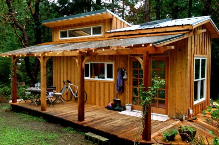 Keva Tiny House - домик для медитации.