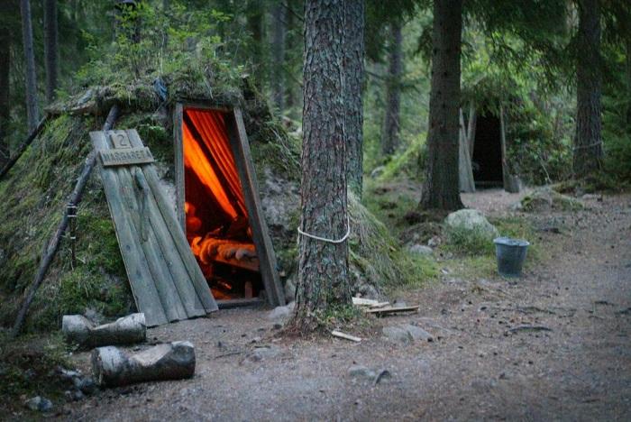 Эко-отель в Швеции.