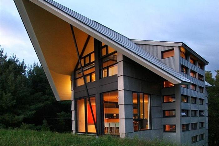 La Cornette - загородный дом посреди пасторальных пейзажей.