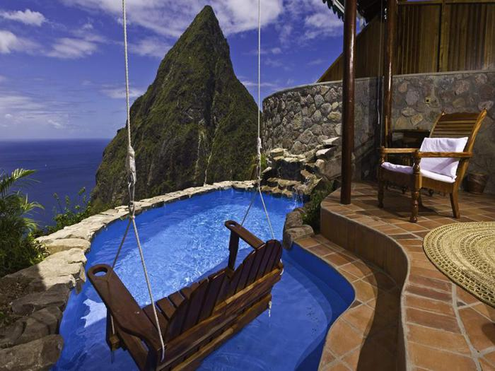 Ladera Resort - роскошный отель на Карибах.