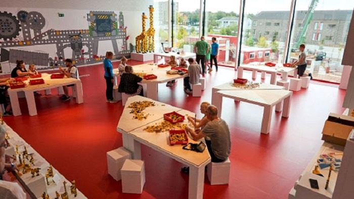 Игровая зона в LEGO House.