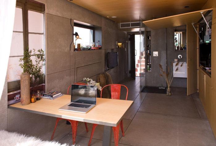 Квартира площадью всего 24 квадратных метра.