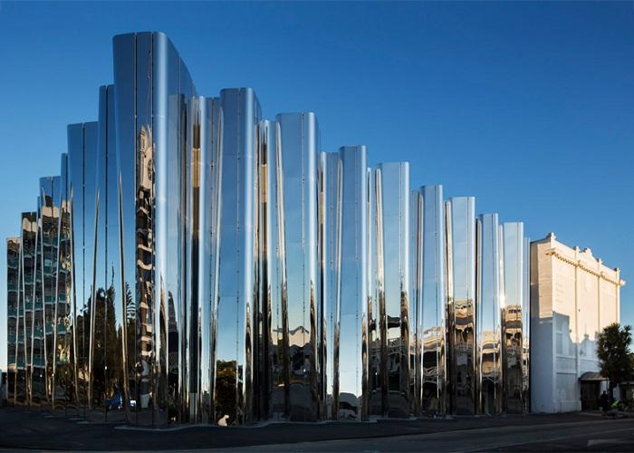 Len Lye Museum - Музей современного искусства в Новой Зеландии.