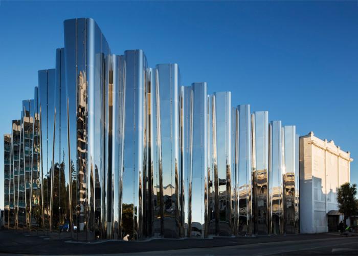 Музей современного искусства в Новой Зеландии.