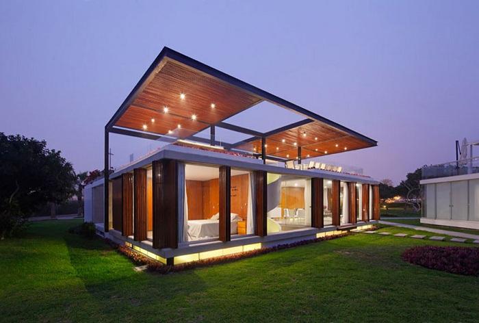 Вилла, спроектированная архитектором Jorge Marsino Prado.