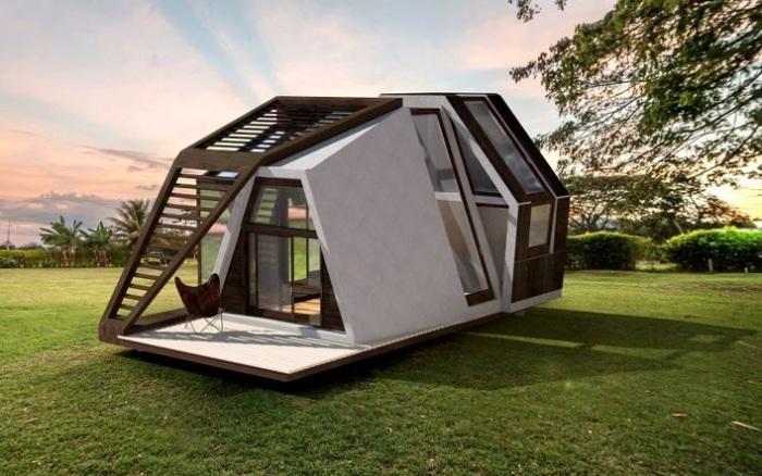 Mobile Home - проект компактного мобильного дома.