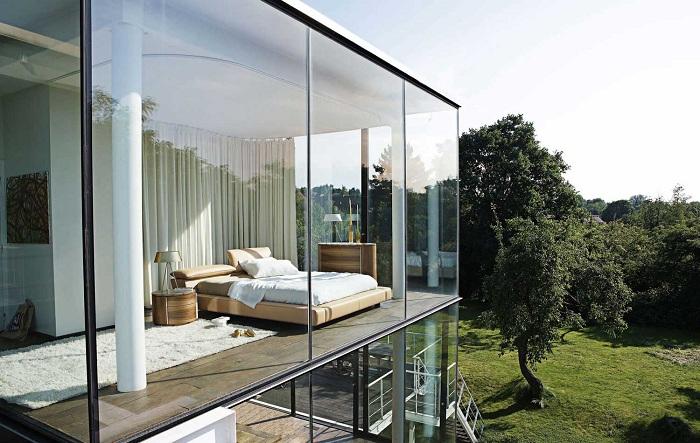 Прозрачный дом от Roche Bobois. | Фото: myhouseidea.com.