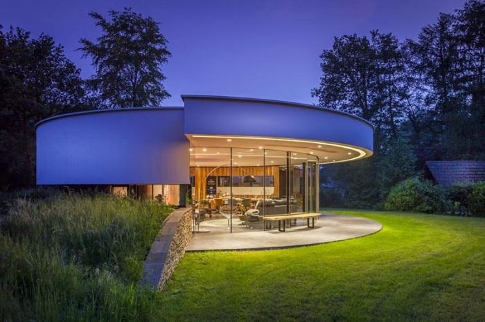 Villa 360 - архитекторский проект фирмы 123 DV Modern Villas.