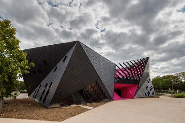 Культурный центр в Mulhouse.