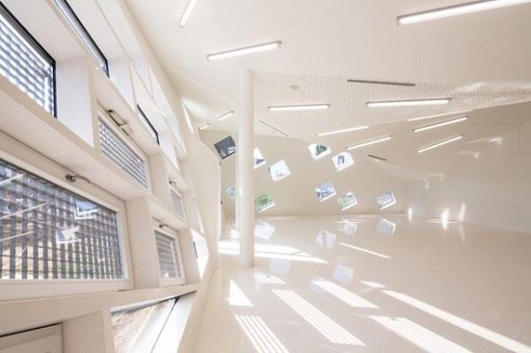 Внутренне помещение культурного центра в Мюлузе.