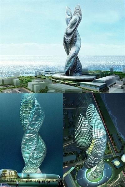 Сobra Towers - башни будущего.