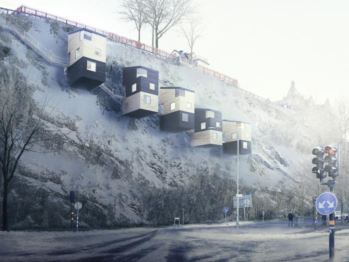 Архитекторский проект шведской фирмы Manofactory.