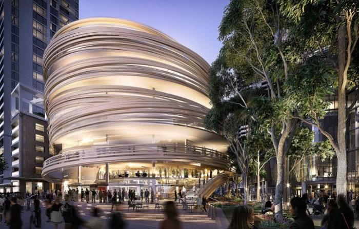 Библиотека в Сиднее. Проект.