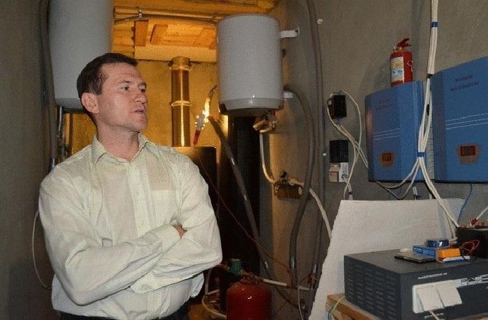 ННиколай Дрига и его система энергоснабжения.