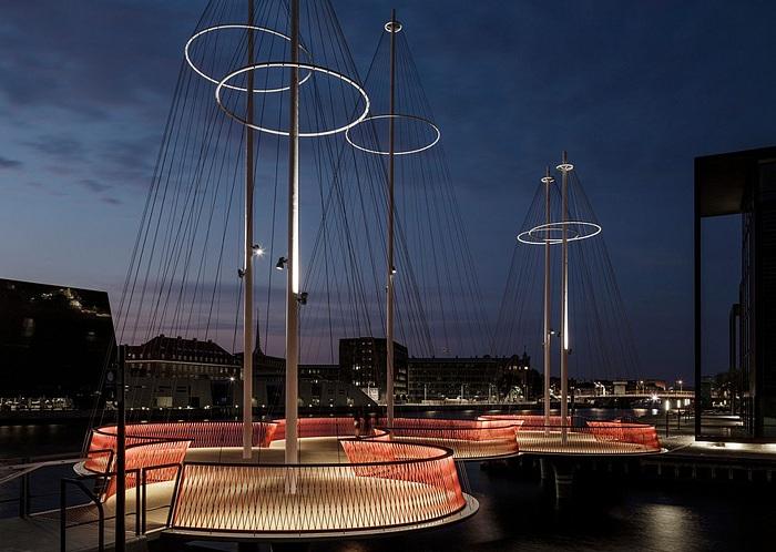 Мост, спроектированный художником Olafur Eliasson.