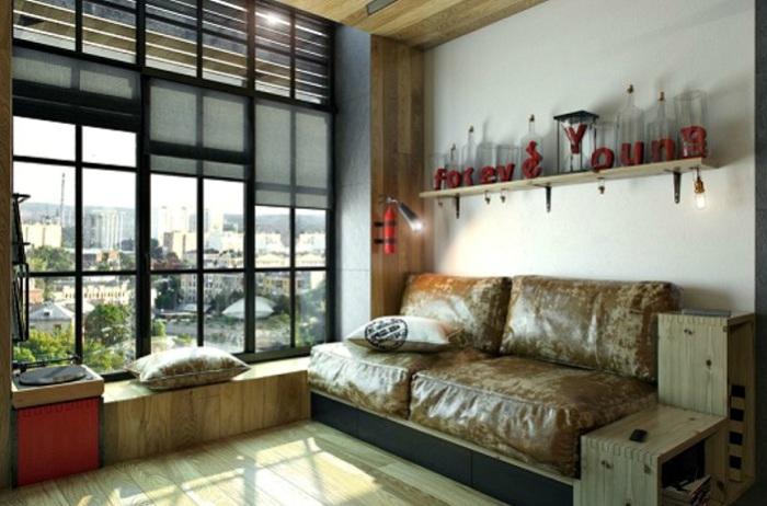 Проект дизайна квартиры от украинской фирмы One Studio.