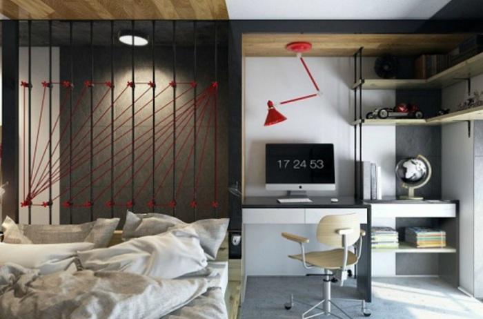 Маленькая квартира в Харькове. Спальня.
