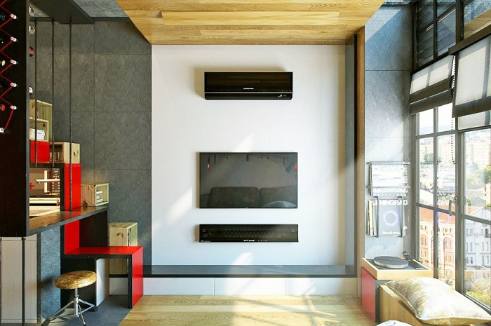 Дизайн квартиры 18 метров