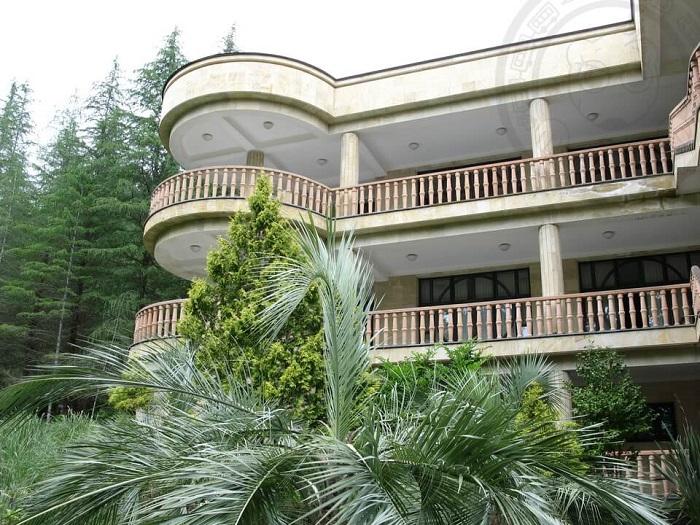 Бывшая дача Горбачева в Абхазии.