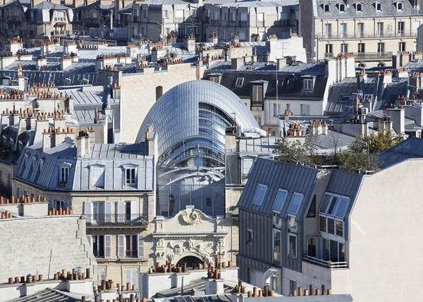 Главный офис фонда The Pathe Foundation в Париже.