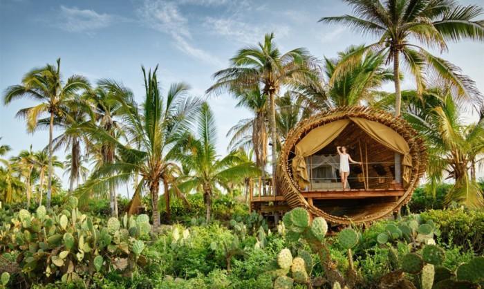 Дом из бамбука, спроектированных фирмой Deture Culsign.