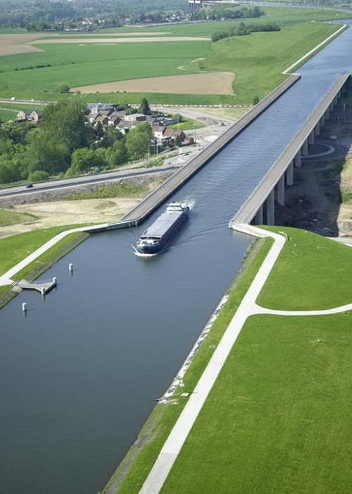Pont du Sart Aqueduct, Бельгия.