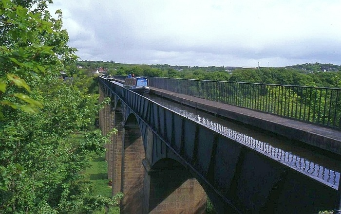 Pontcysyllte Aqueduct- самый высокий акведук в Великобритании.