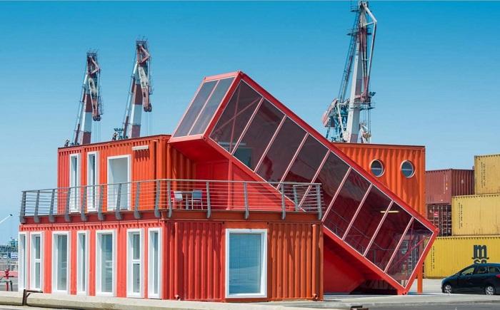 Архитекторский проект студии Potash Architects.