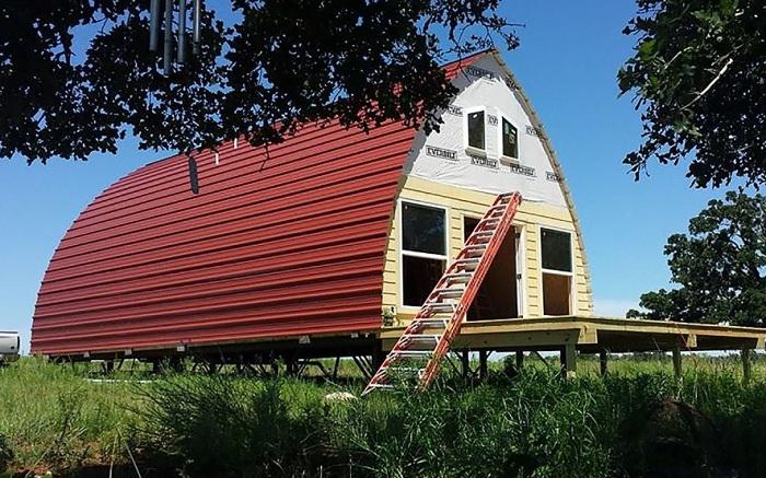 Цена арочного дома варьируется от 1000 и 5000 долларов.