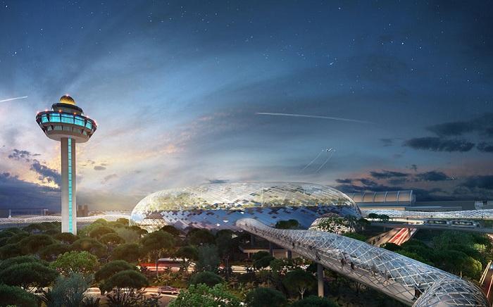 Проект архитектора Moshe Safdie.