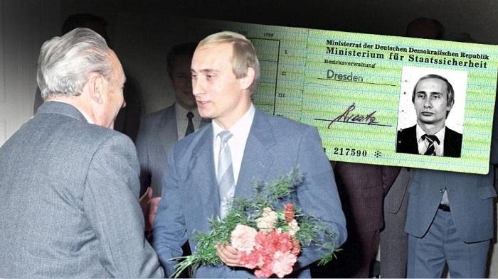 Удостоверение Штази на имя В. В. Путина, по мнению немецкой газеты Bild.