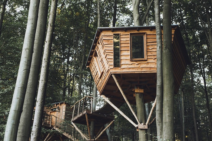 Peter Becker построил отель «Гнездо Робина Гуда».