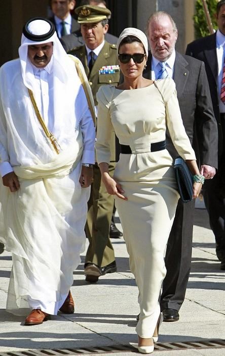 Самая влиятельная женщина в Катаре.   Фото: brightside.me.