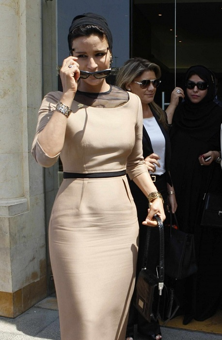 Одна из самых влиятельных женщин Катара.   Фото: blameboogie.blogspot.com.
