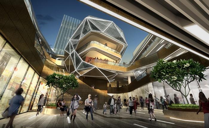 Проект китайского торгового центра «Prince's building».