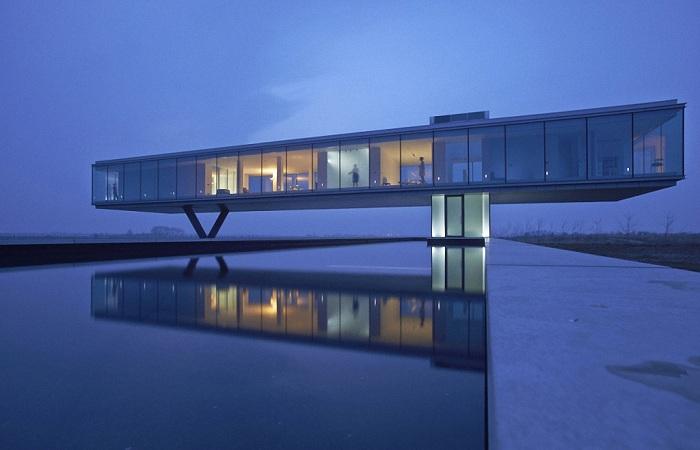 Экологически нейтральный дом Villa Kogelhof.