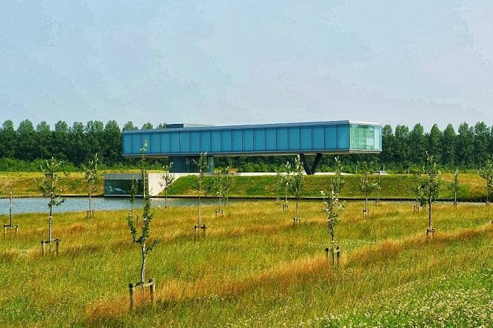 Дом на участке с 71000 деревьев.