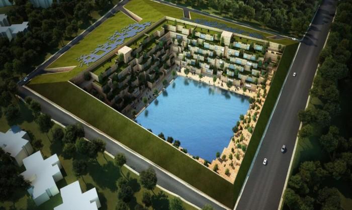 Reservoir - проект офисного пространства в индийской провинции Раджастан.
