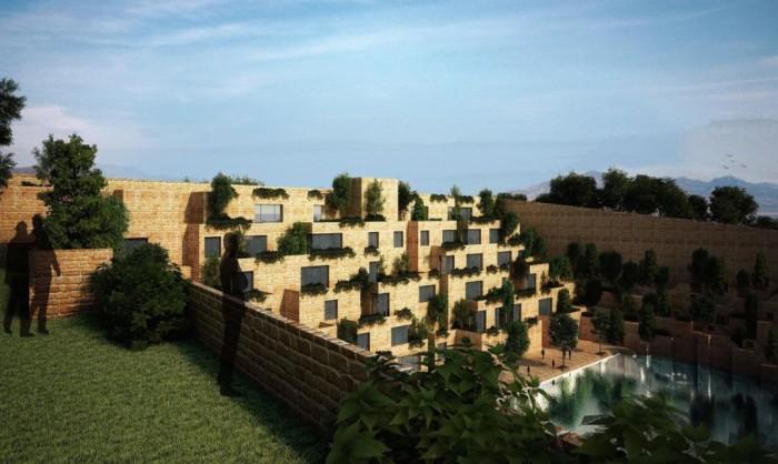 Архитекторский проект индийской компании Sanjay Puri Architects.