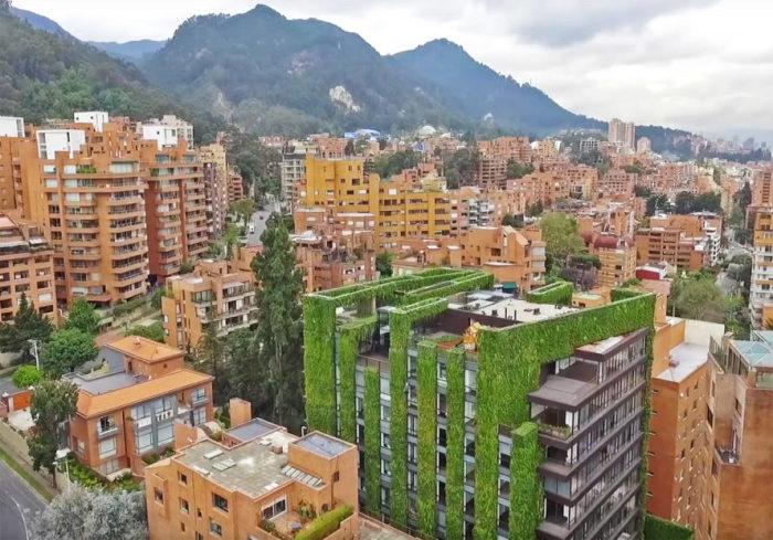 «Зеленое сердце Боготы».
