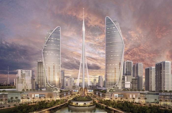 Проект смотровой башни в Дубае.