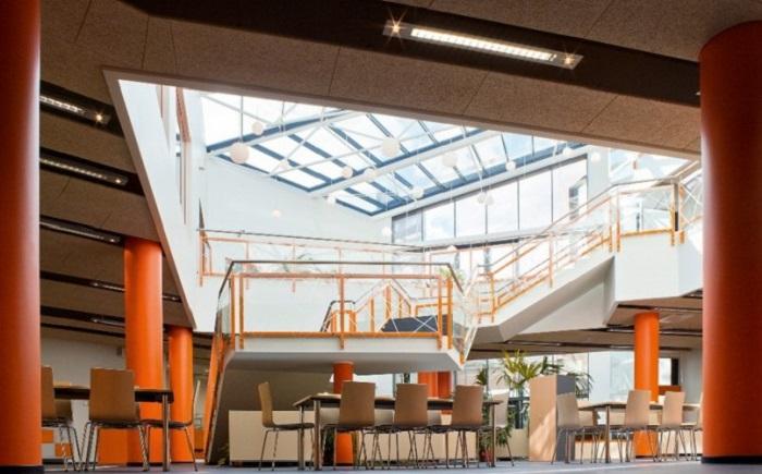Внутреннее оформление учебного центра в городе Валга.